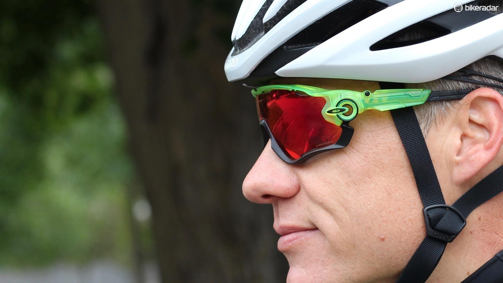 Low key the Oakley Jawbreaker Prizm Road sunglasses are not