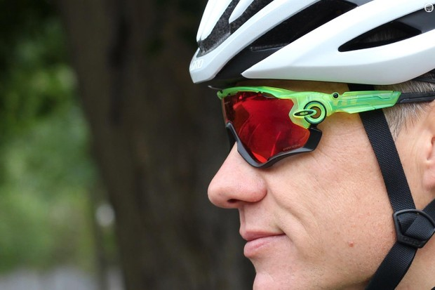 Low key the Oakley Jawbreaker Prizm Road sunglasses are not