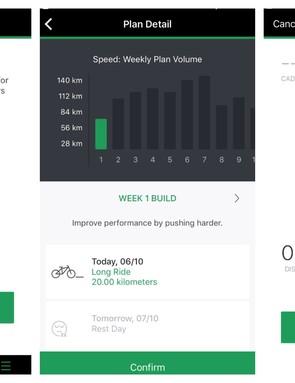 The Oakley Radar Pace app is a polished affair