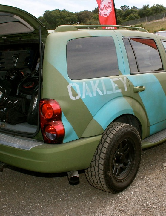 The Oakleymobile, powered by Blick.