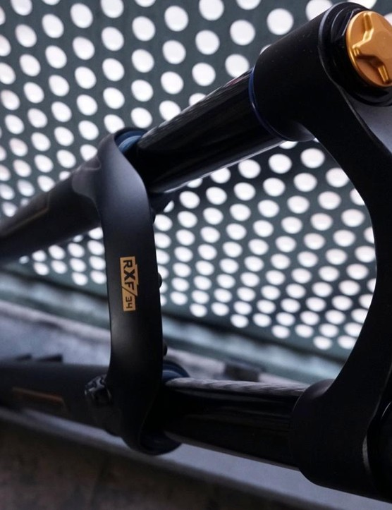 The RXF34 is a burly trail fork