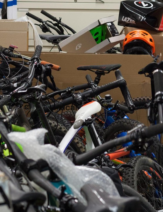 If you own lots of bikes, be sure to shop about