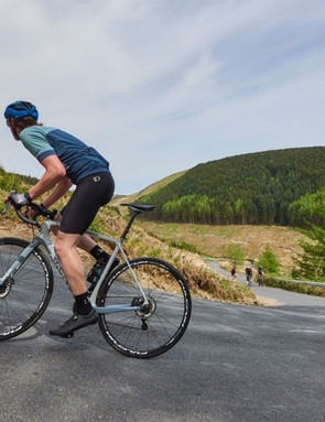 You may want to stand to power up short, steep sections