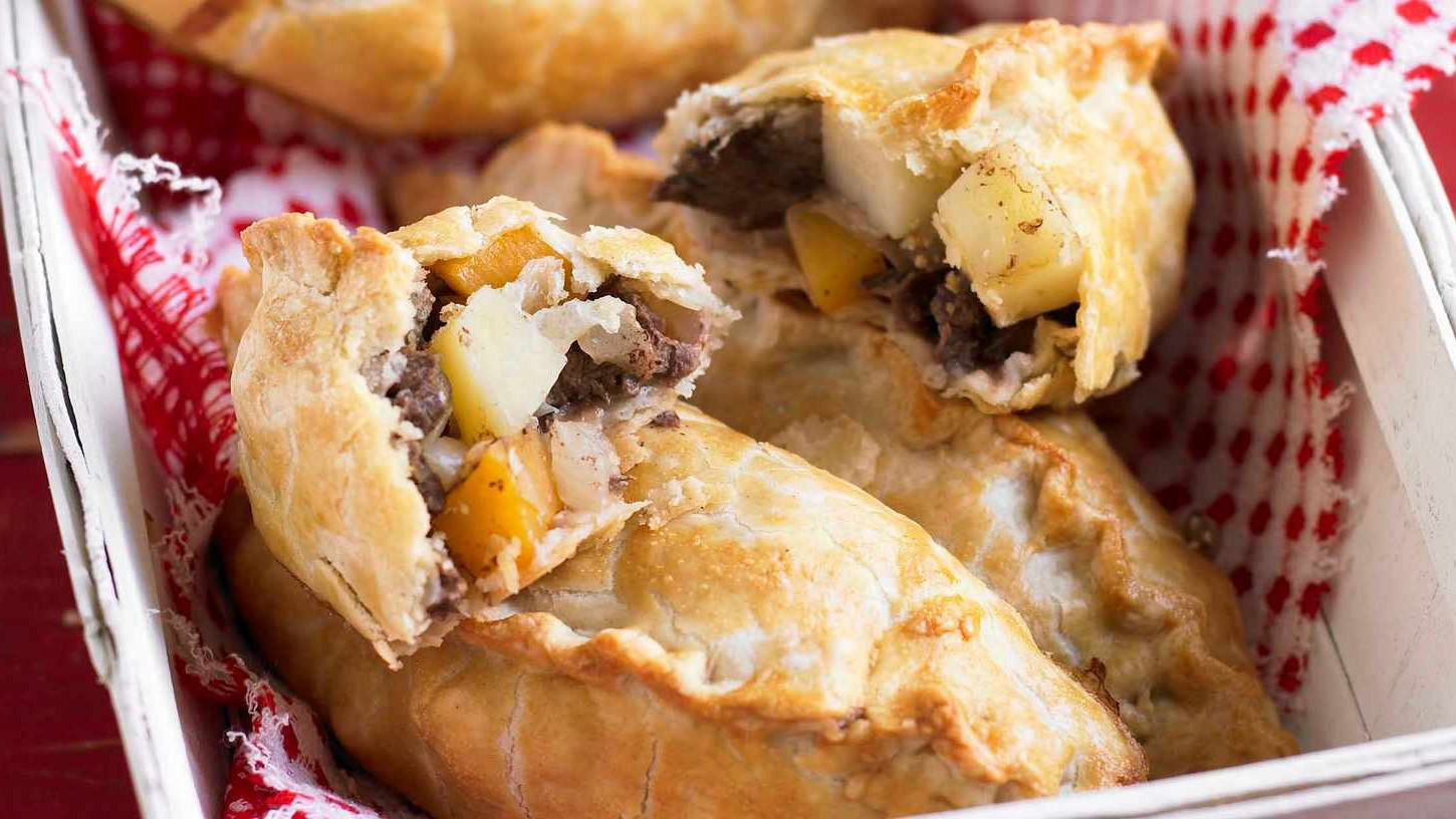 The Cornish pasty is probably the original fast food on the go