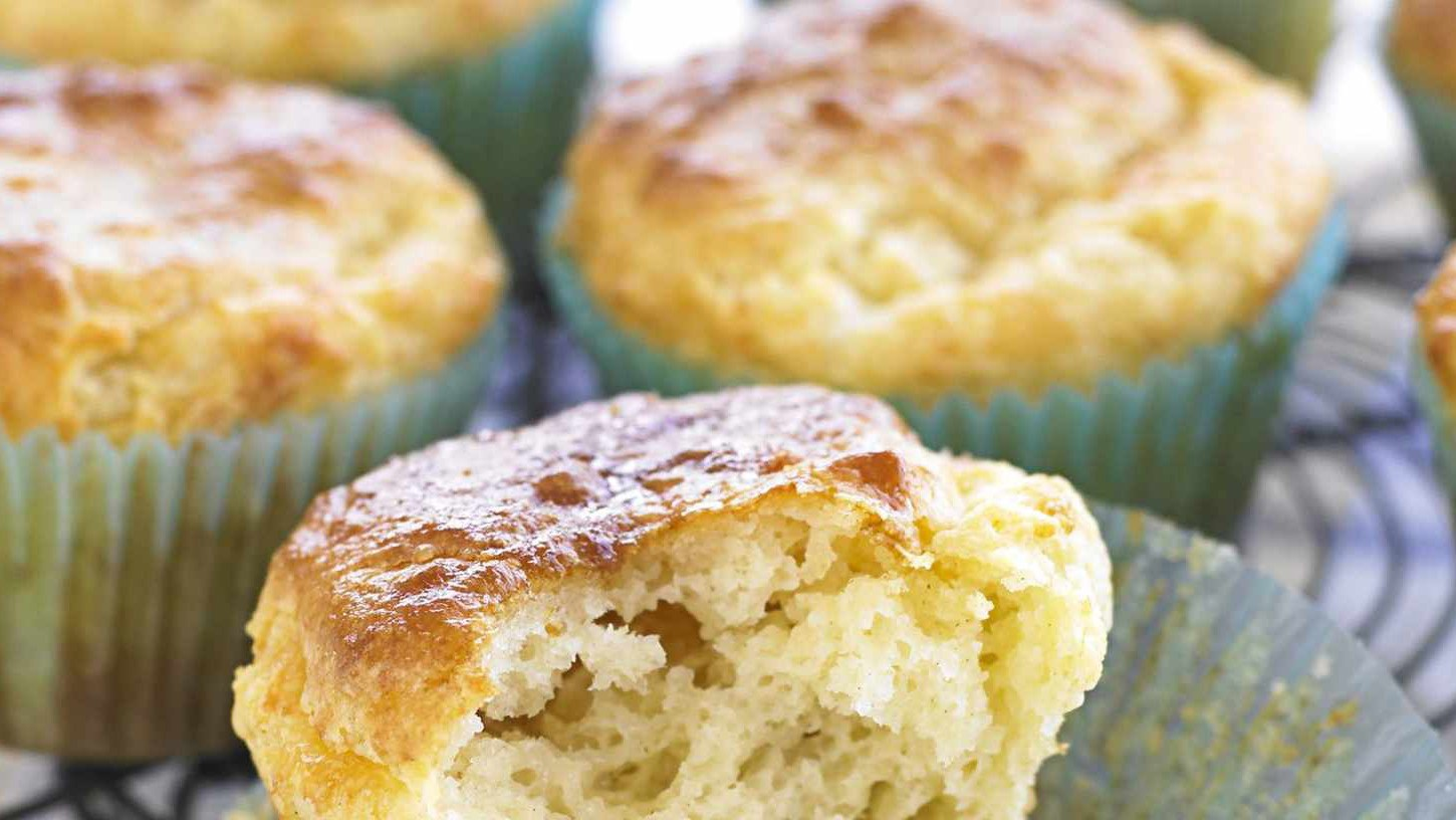 Savoury muffins make a nice change from sweet