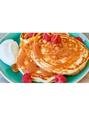 These pancakes look delicious!
