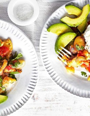 Poached eggs and avocado... what's not to love?!