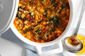 Plenty of vegetarian protein in this tasty stew