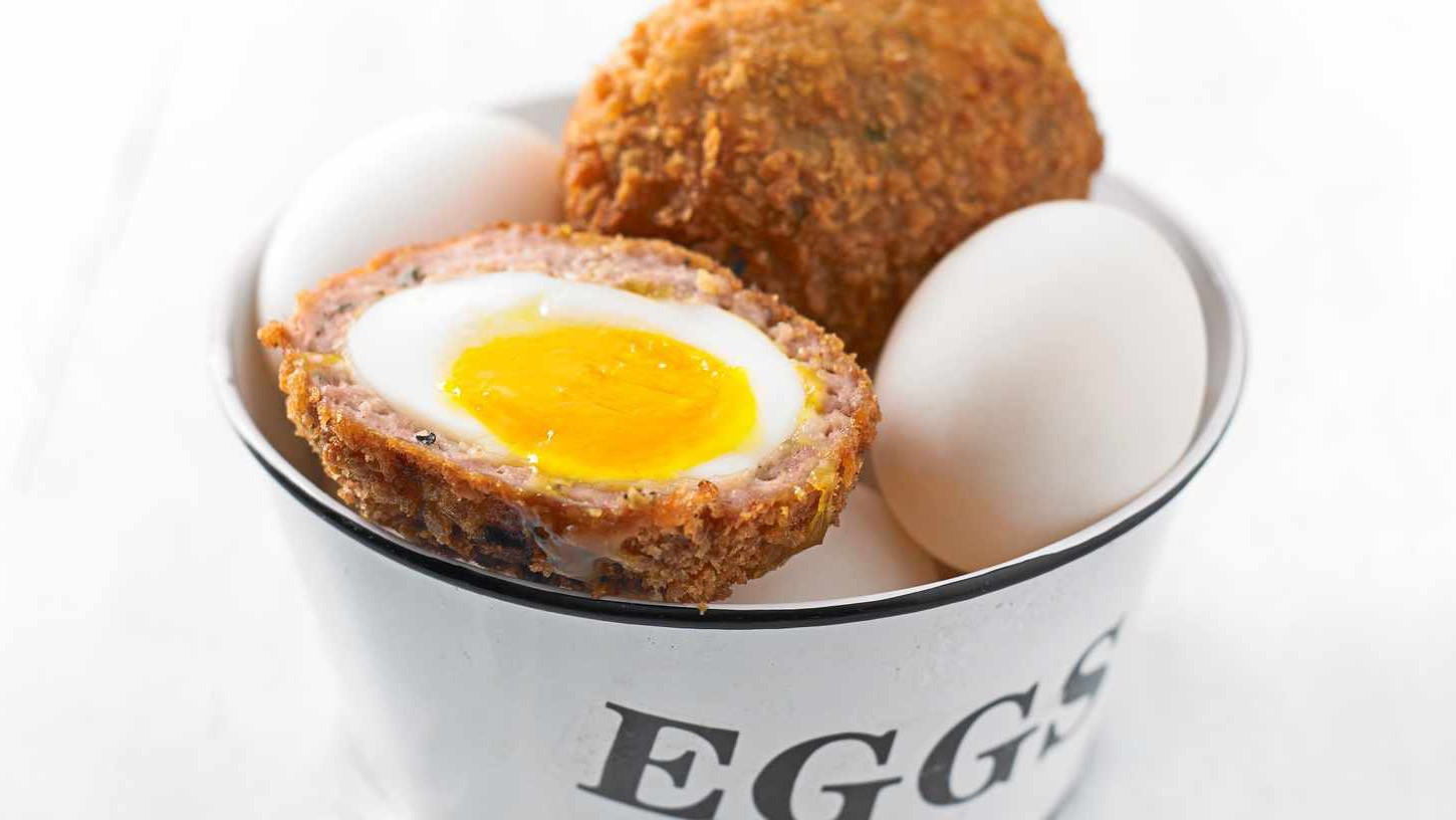The classic Scotch egg is a picnic stable