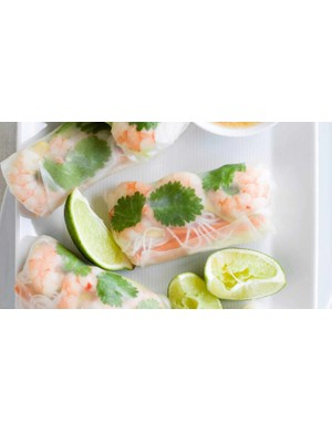Light and tasty summer rolls