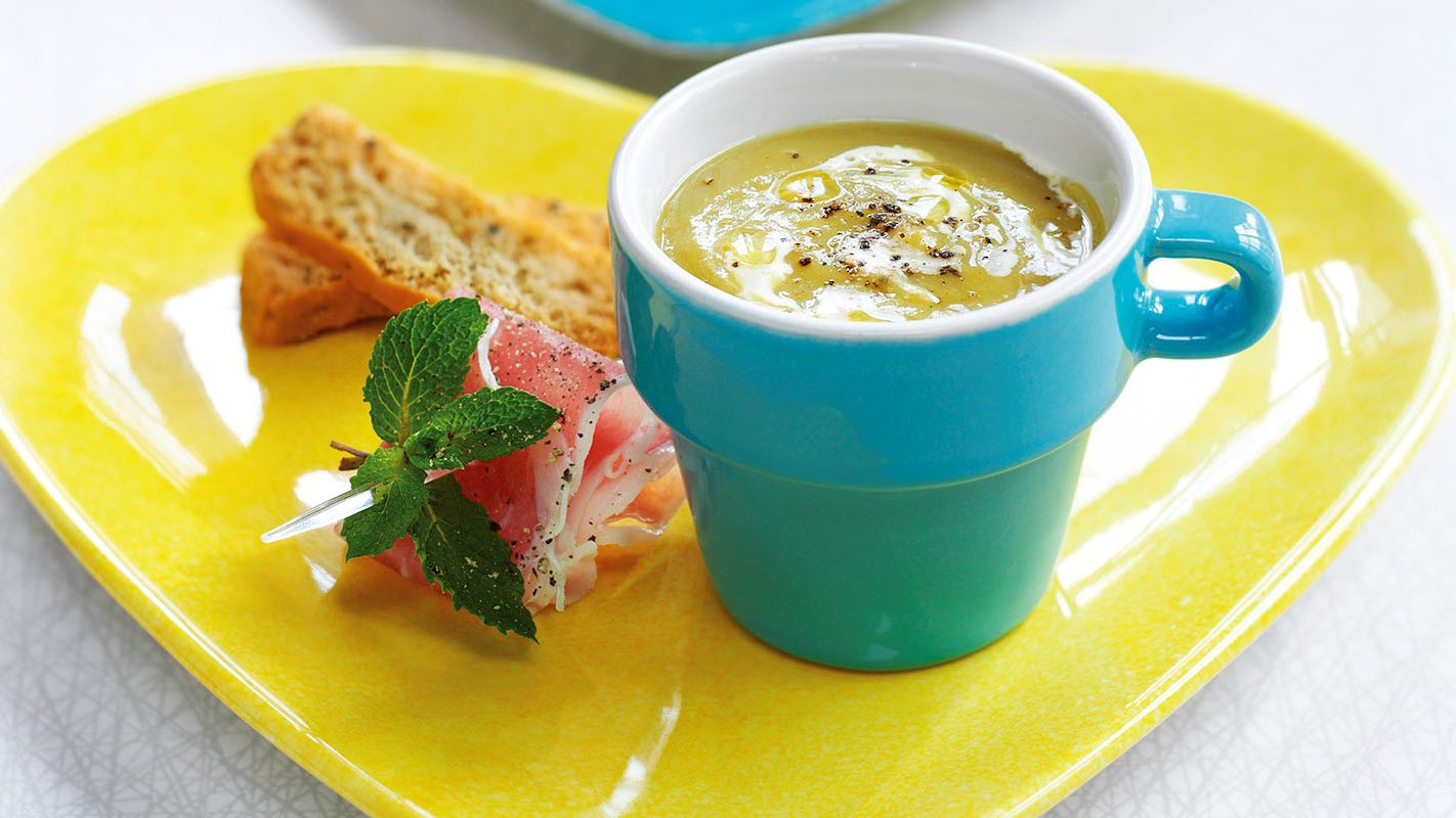 Doll your soup up with tasty and decorative accompaniments