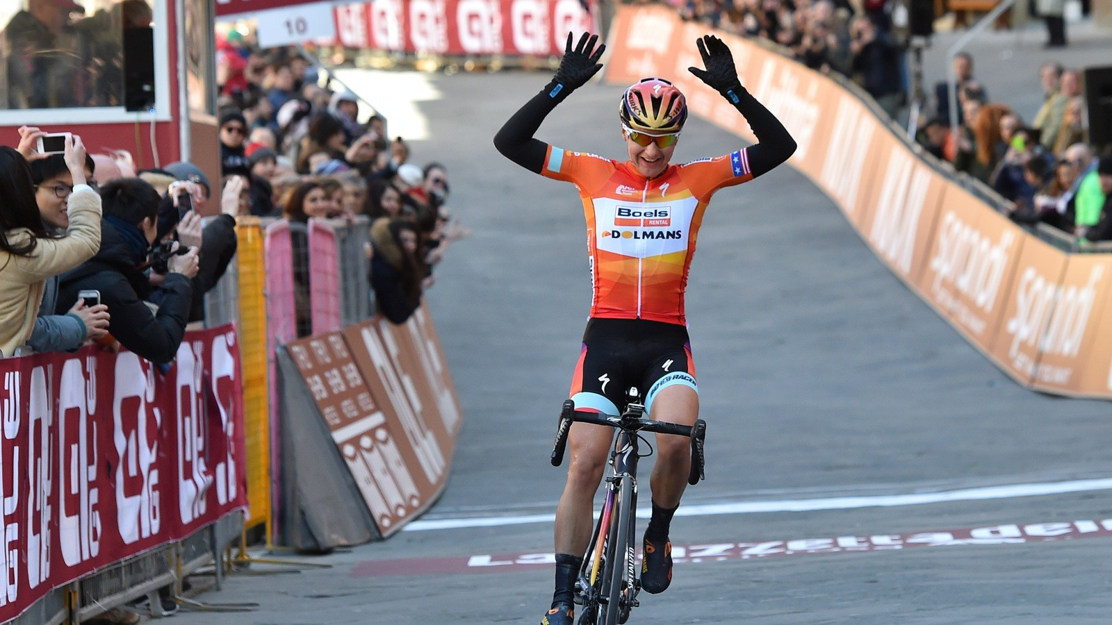 Megan Guarnier is the #1 UCI ranked rider