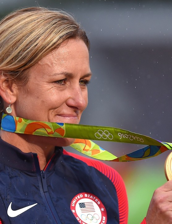 Armstrong won her third Olympic gold in Rio