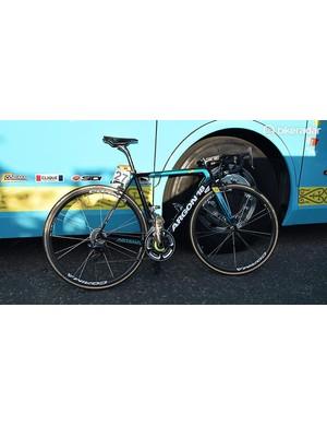 Michael Valgren's Omloop Het Nieuwsblad winning Argon 18 Gallium Pro