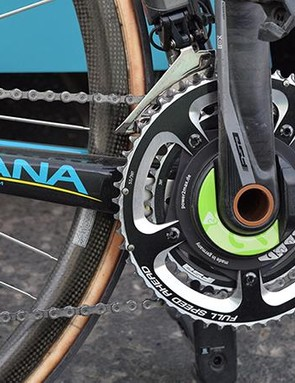 Valgren opted for 53/39 chainrings
