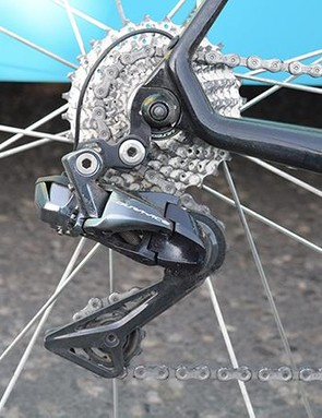 Who says you can't win a WorldTour race with (at least some) Shimano Ultegra components?