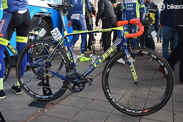 Wanty-Groupe Gobert's eye-catching Cube Litening C:68