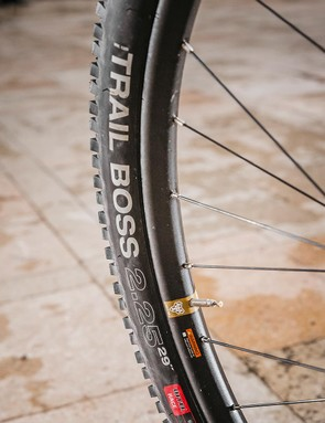 Trail Boss tyres help to smooth out the trail