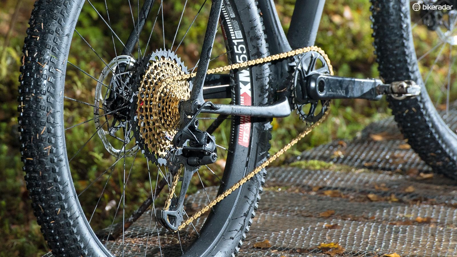 SRAM Eagle doesn't just increase gear range, it shifts better and runs smoother too