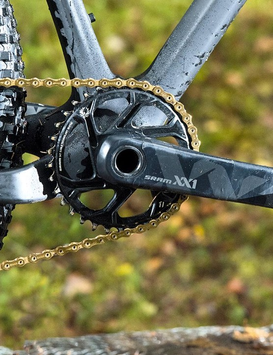 Eagle chainrings get a radical, load-sharing tooth profile based on studying worn out rings