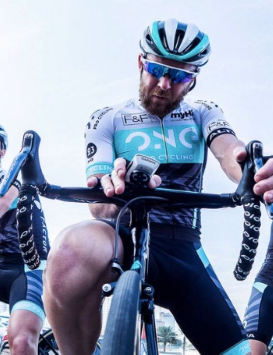 ONE Pro Cycling testing the new InfoCrank update