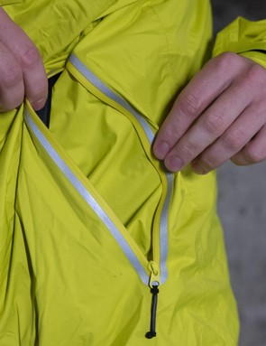 Large pockets are handy for work access cards and keys