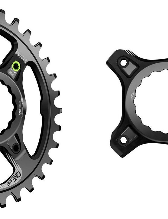 The essence of the Switch system is separating the spider and the chainring
