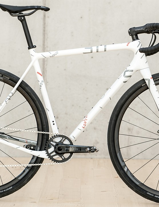The special limited-edition bike is based on Open's U.P. frameset