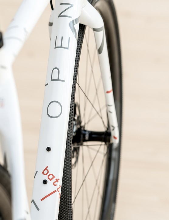 Another angle of the Open x Omata bike