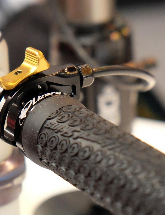 Cane Creek's Opt remote allows the user to engage the Climb Switch on the fly