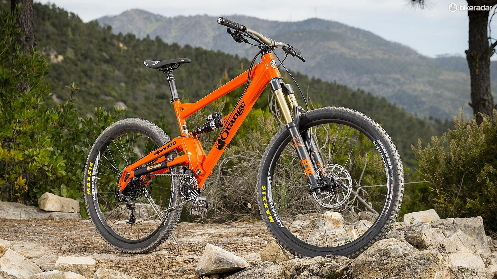None more Orange: our Alpine 160 RS custom build