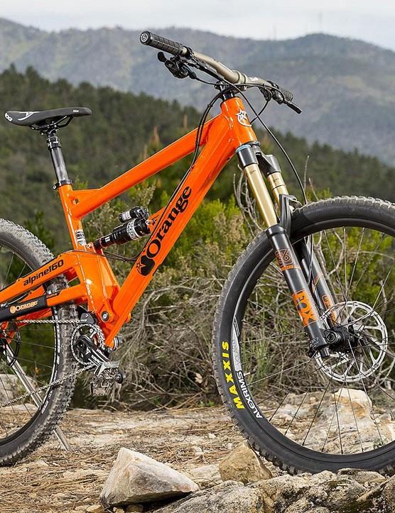 None more Orange: our Alpine 160 RS custom build