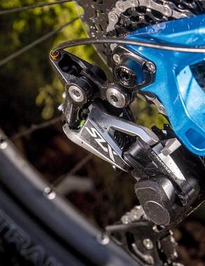 SLX 1x11 provides plenty of transmission range