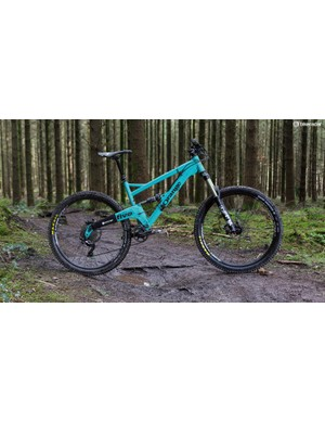 Our Orange Five Pro came with a fetching optional-extra 'mountain mint' paint job