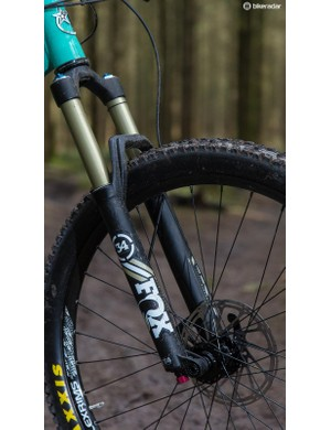 You can upgrade the standard Performance-series Fox suspension too should you wish