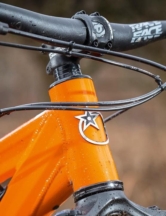 The 780x35mm handlebars
