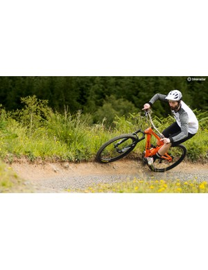This bike is capable of a lot more than just Sunday XC spins
