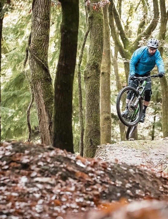 The P7 boasts angles that wouldn't be out of place on an enduro bike