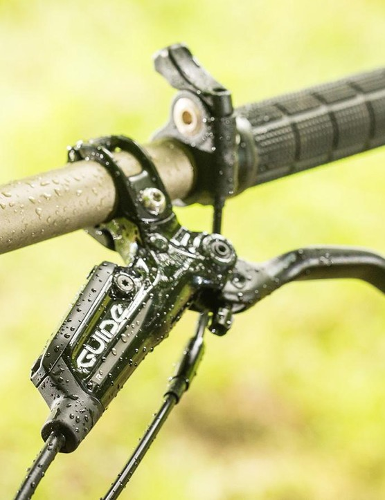 SRAM Guide RS brakes offer decent power