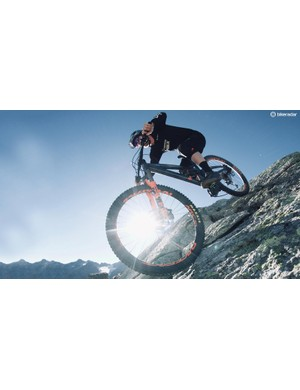 Stay off the brakes, pump the bike and hop it over the harshest of hits and the Stage 6 seems to generate speed