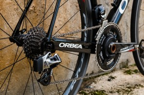 The eTap groupset is a perfect match for a high-end racing machine