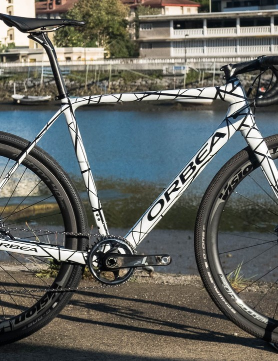 We first spotted the Orbea Terra gravel bike in this prototype form