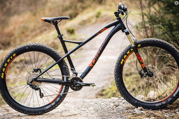Despite a sometimes lacking kit list, Orbea's Loki 27+ H10 is a good advert for plus-sized rubber