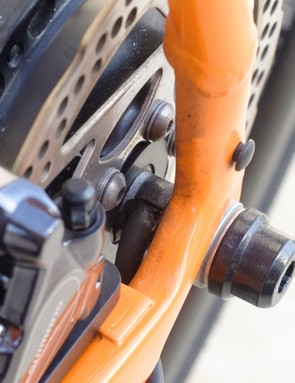 The X35 hub is six-bolt only