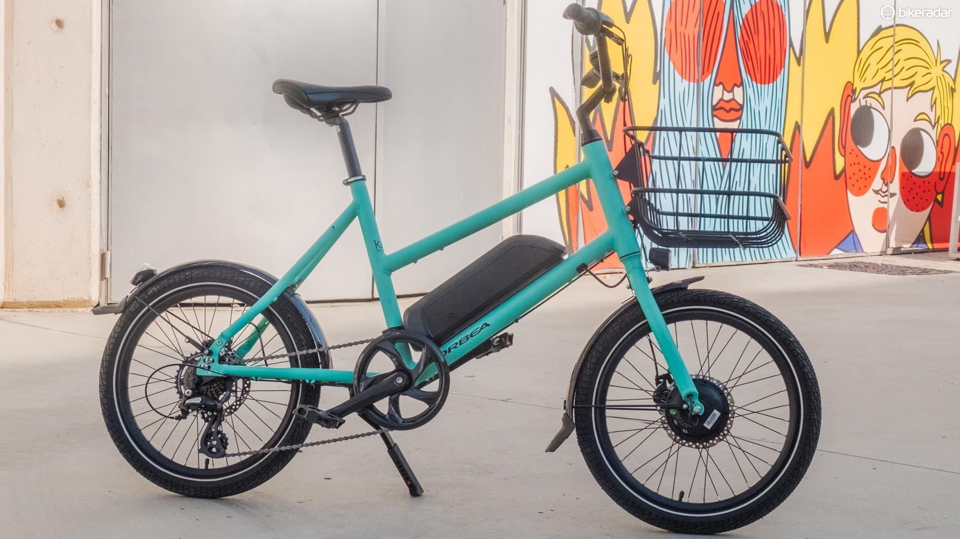 The Orbea E-Katu is a dinky, versatile utility bike