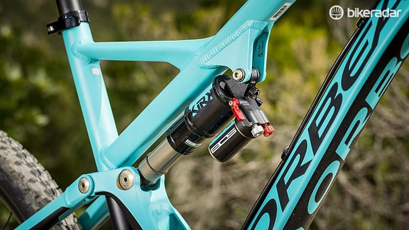 BOS suspension components are quality, but we had trouble coaxing the best out of the custom-tuned Kirk shock