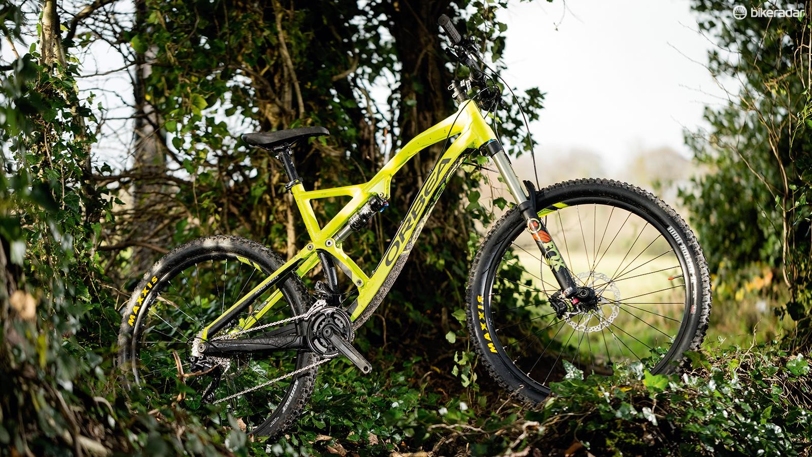 The Orbea Rallon X30 is for the most part a brilliantly on-point –and high-value –enduro machine
