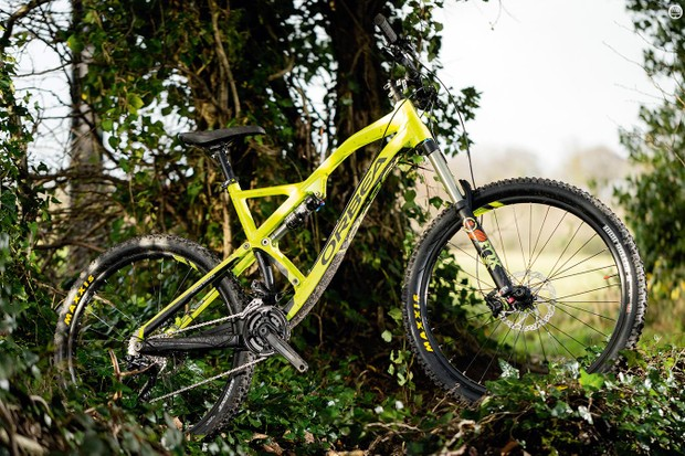 The Orbea Rallon X30 is for the most part a brilliantly on-point – and high-value – enduro machine