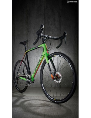The bright green paint job is eye catching but more understated colours are available