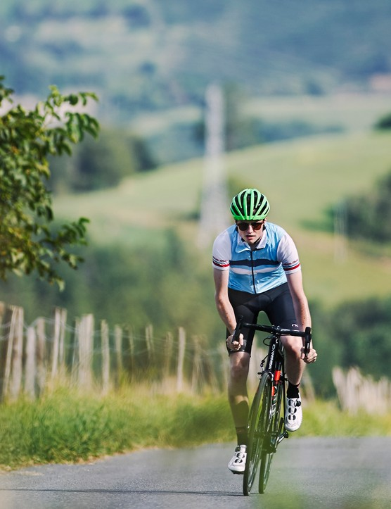 Your hill climb time is a direct reflection of your power to weight ratio